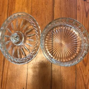Accents - Glass candy bowl